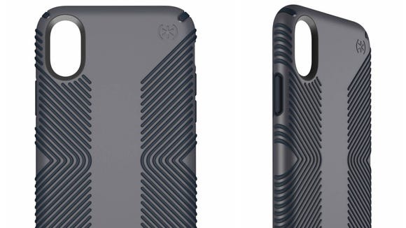 """This case's non-slip grips are perfect for people with the """"dropsies."""""""