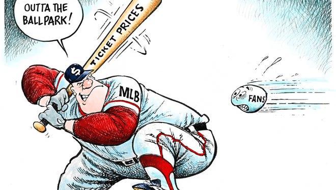 MLB ticket prices