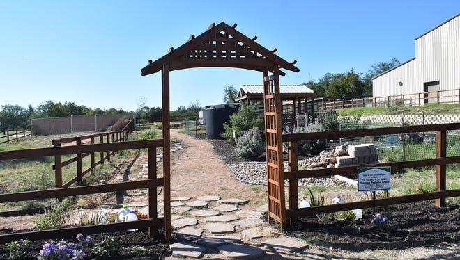 The People/Plant Connection's Children's Adventure Garden is located behind the Southside Rec Center in Padron Park on Ben Fickin Road, in San Angelo.