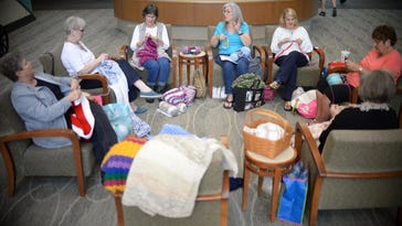 Handmade: 'Knit Wits' are warming hearts and bodies