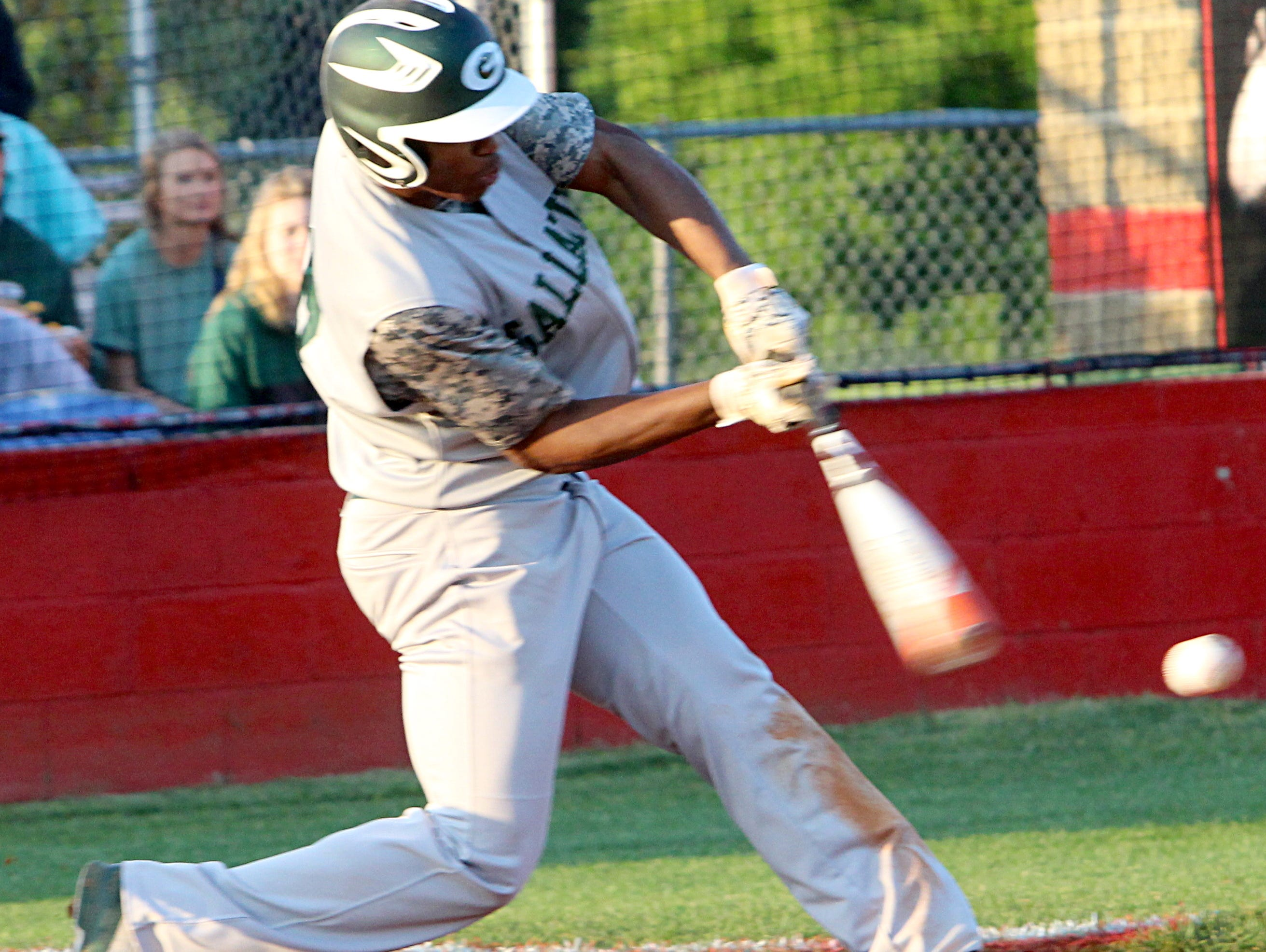 Jordan Mason hit .353 for the Green Wave baseball team last season. He's expected to start in center field for Gallatin in his senior year.