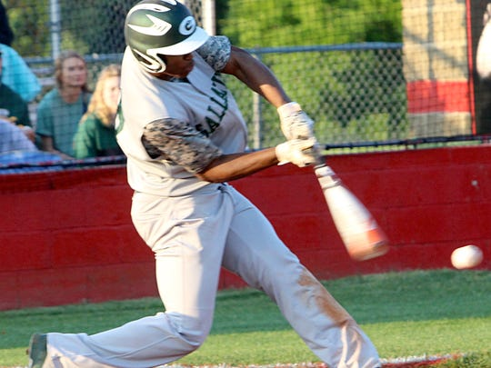 Jordan Mason hit .353 for the Green Wave baseball team