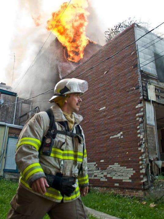 York City Assistant Fire Chief Greg Altland