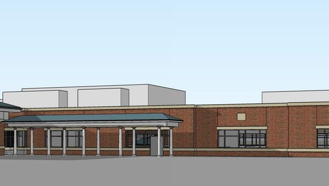 A rendering of the $49 million outpatient health care center WellSpan Health plans to build in Penn Township.