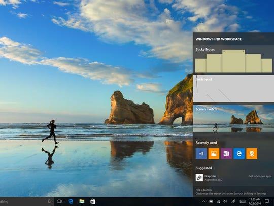 Windows Ink gets some love inside Windows 10