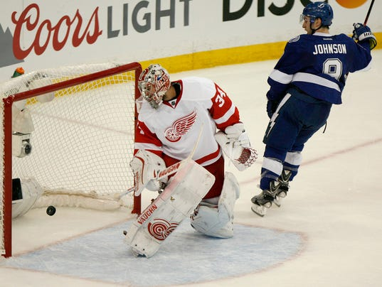 Other Than Losing Detroit Red Wings Liked Game 2 Vs Tampa