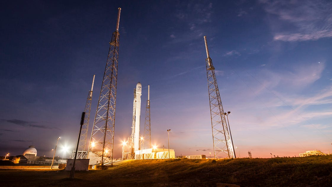 Forecast fine for SpaceX Falcon 9 launch Wednesday