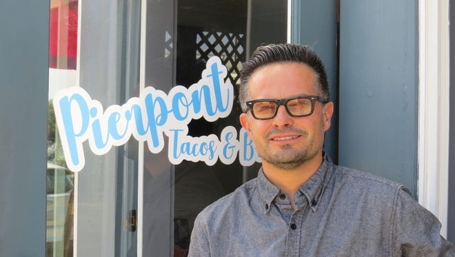 Ventura County artist-turned-restaurateur Rolando Camarena has opened Pierpont Tacos & Brew at the former Seaward Fish N' Chips in Ventura. The new restaurant's name is a tip of the hat to Tacos 'n' Beer, which closed nearby about a decade ago.