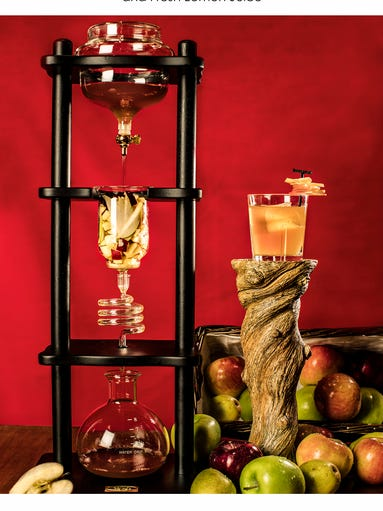 An autumn infusion  can be ordered at Biscotti's at