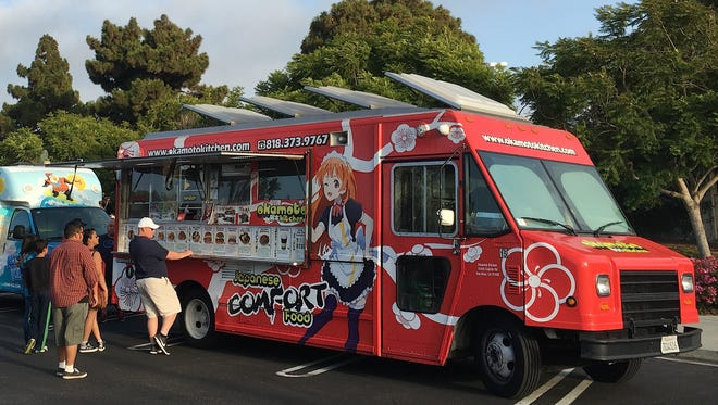 The Okamoto Kitchen food truck will make its event debut during the 2nd Fridays @ Simi at the Plaza food-truck gathering from 5-9 p.m. April 14 in Simi Valley.