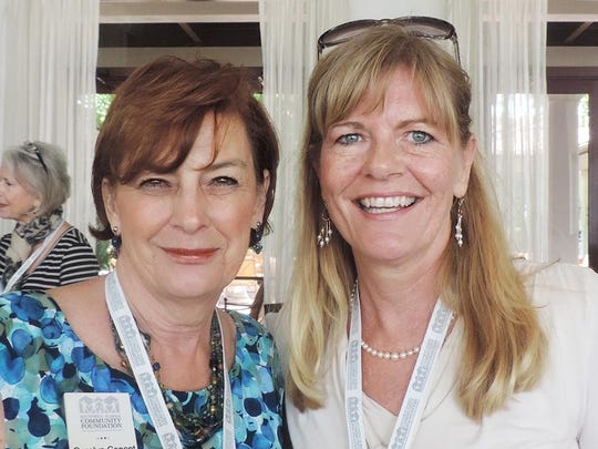 4. Carolyn Conant and Lucy Costa