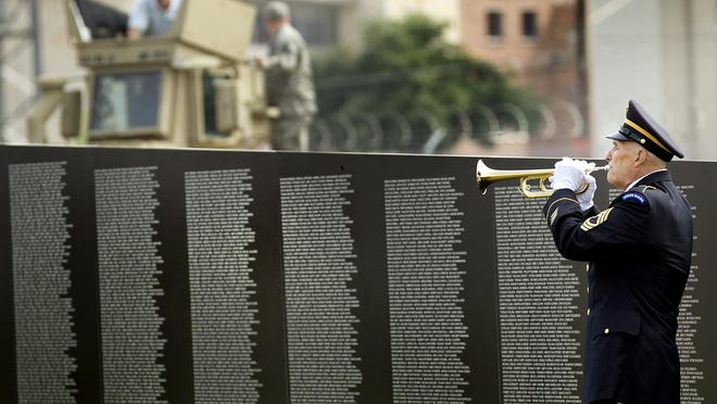 The Traveling Wall, an 80 percent-size replica of the Vietnam Memorial in the District of Columbia, will be on display at Levee Park in East Peoria beginning Sept. 23.