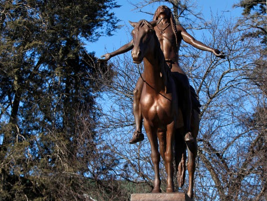 Appeal to the Great Spirit statue