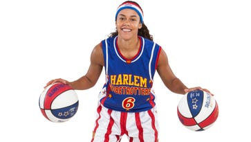 Hoops Green and the rest of the Harlem Globetrotters will play at Kellogg Arena Jan. 19.