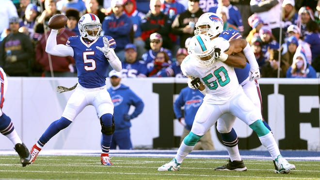 Tyrod Taylor will replace Cam Newton in the Pro Bowl.