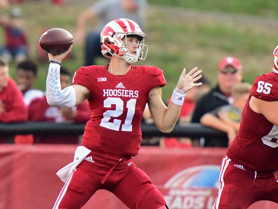 Richard Lagow finished second in the Big Ten in passing