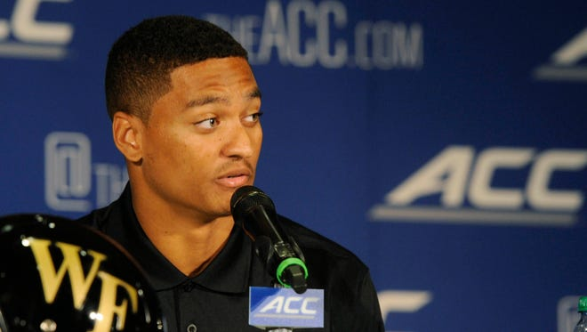Wake Forest CB Kevin Johnson could be a first-round pick Thursday.
