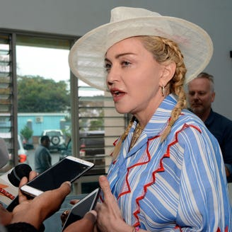 See the rare family photo Madonna shared of all 6 children in Malawi