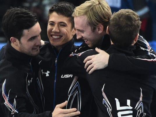 USP Olympics_ Short Track Speed Skating-Men's 5000