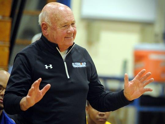 Wi-Hi basketball coach Butch Waller.
