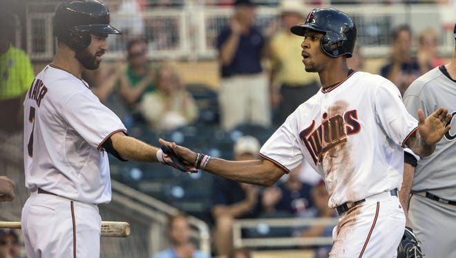 Byron Buxton played in 11 games for the Minnesota Twins before going on the disabled list. He's joining the Red Wings Friday in Charlotte.