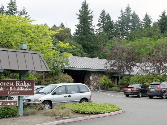 Forest Ridge Health and Rehabilitation in West Bremerton is among a group of nursing facilities run by Cornerstone Healthcare Services, which filed for Chapter 11 bankruptcy protection on Nov. 24.