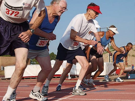 Between 65 and 70 local seniors are expected to compete in Roswell.