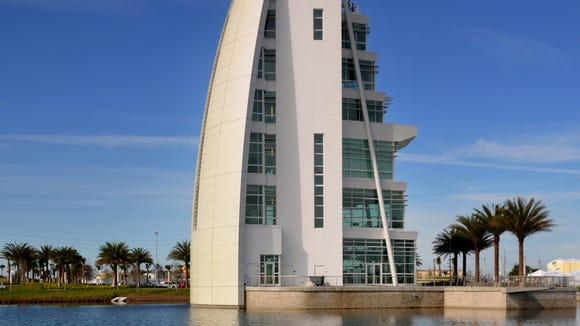 Exploration Tower at Port Canaveral.