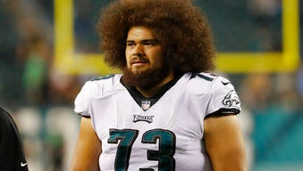 Isaac Seumalo is the Eagles' backup center after starting the first two games last season at left guard before losing his job to Stefen Wisniewski.