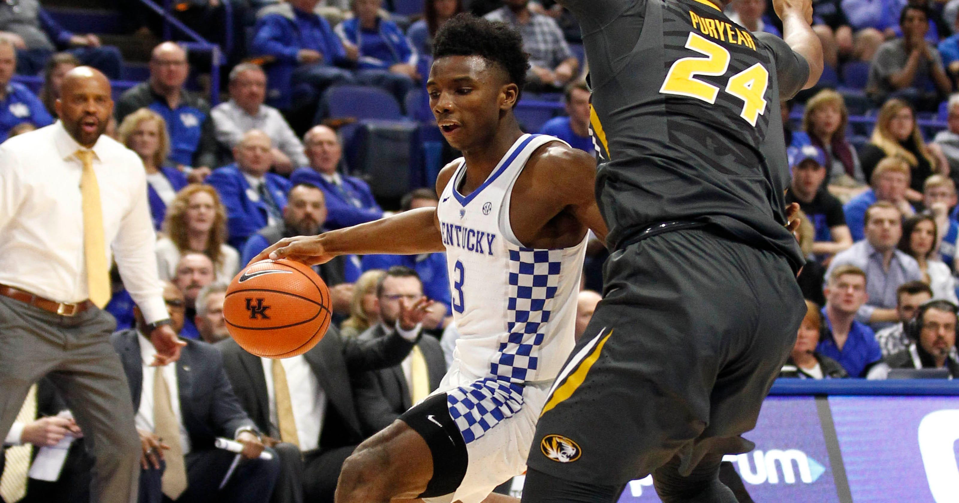 Kentucky basketball Hamidou Diallo escapes from  rabbit hole  with 11  points against Missouri 172ed24e5