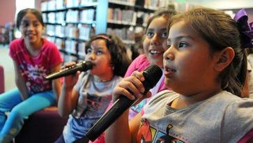 Karaoke kids in east Salinas