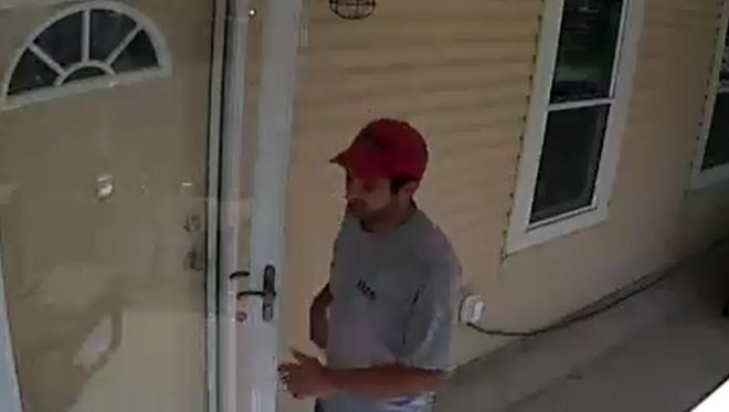 This man is wanted for burglarizing an Ocean Township home on Thursday, May 19, 2016.