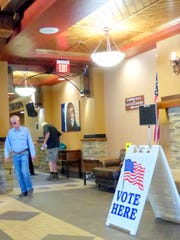 A steady trickle of voters showed up at the Ruidoso Convention Center with 226 casting ballots there by mid-morning Tuesday.