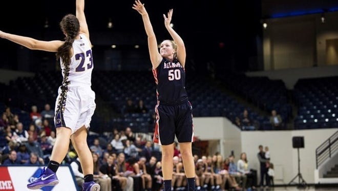 Belmont's Sally McCabe was named the OVC co-player of the week Tuesday.