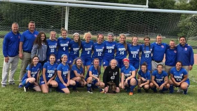 The St. Clair soccer team won its second consecutive district championship this season.