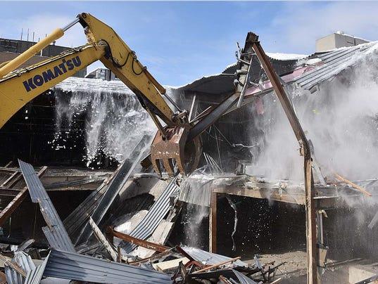 Burlington Town Center Demolition
