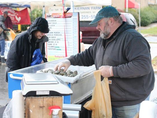 Shoppers take advantage to the Nyack Farmers' Market