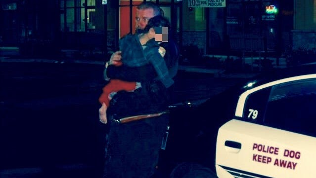 A Visalia police officer saves a boy kidnapped early Saturday morning in north Visalia.