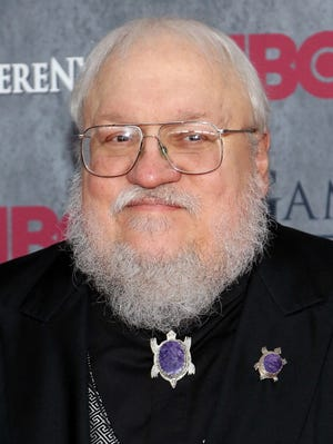 "Series creator George R.R. Martin attends the ""Game Of Thrones"" Season 4 premiere at Avery Fisher Hall, Lincoln Center on March 18, 2014 in New York City."