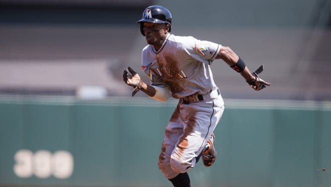 Marlins second baseman Dee Gordon won the 2015 NL batting title and signed a $50 million contract in January.
