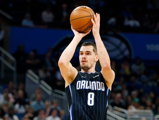 The Knicks signed forward Mario Hezonja to a one-year contract.