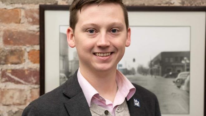 Joe Frey, 26, was hired by the Saugatuck Township Board of Trustees on Jan. 13 to take over for Griffin Graham, who