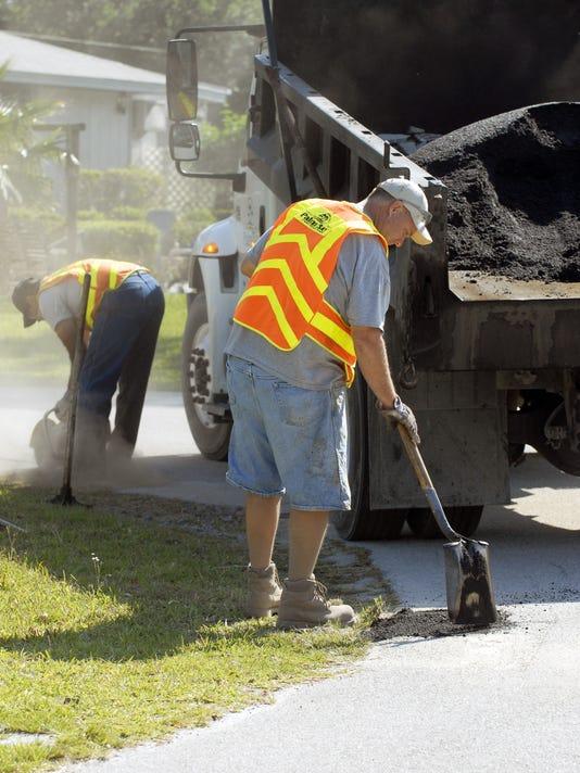 Palm Bay potholes
