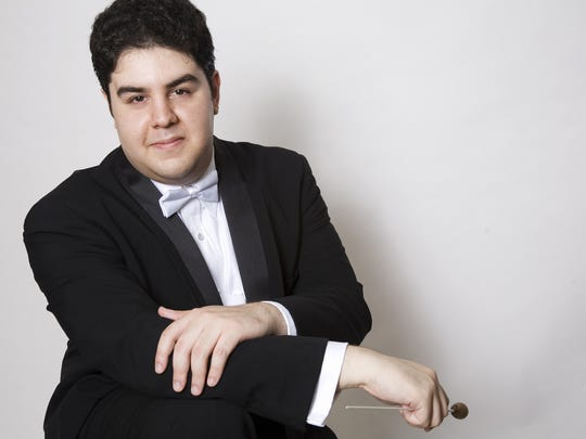 Tito Muñoz, music director of the Phoenix Symphony.