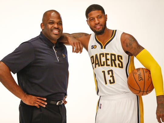 Indiana Pacers head coach Nate McMillan and Indiana