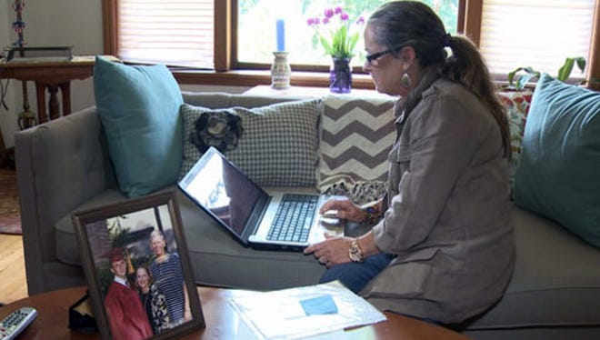 Kathe Holmes of Normandy Park, Wash., has found it difficult to get her deceased husband's United Airlines frequent flier miles transferred to her.
