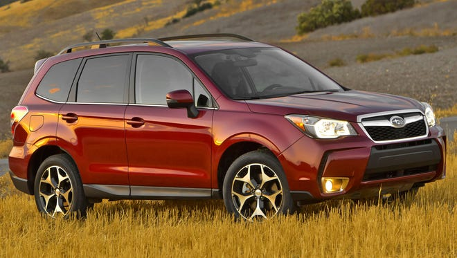 The 2014 Subaru Forester is one of the vehicles cited in the oil-use lawsuit.