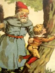"""The Belsnickel was sometimes known as the """"anti-Nicholas,"""""""