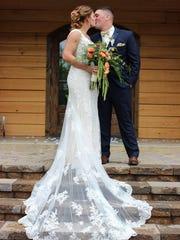 Melaine Smith on her wedding day.