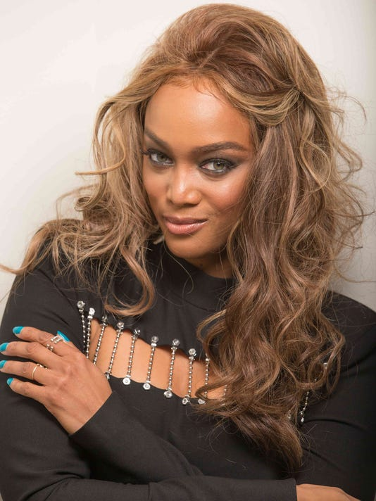 tyra banks on tv s fashionable top model finale